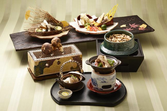 源氏香「秋穫祭 香り豊かな松茸料理」
