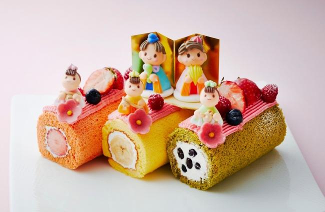 ひなまつりデコレーションケーキ