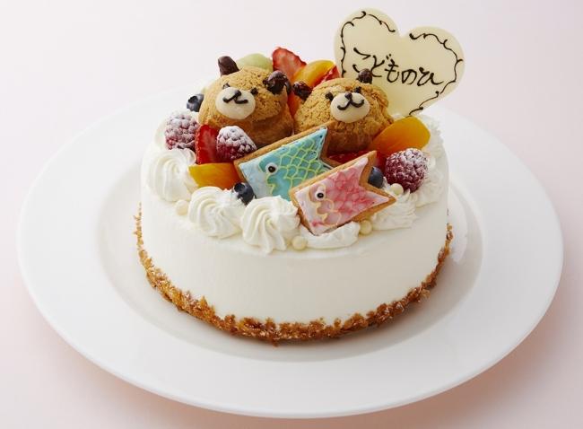 アニマルホールケーキ