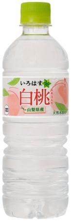 「い・ろ・は・す 白桃」 555ml PETボトル