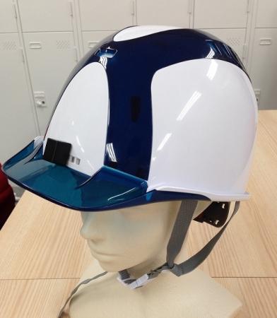 図4) スターライト工業株式会社 ヘルメット写真