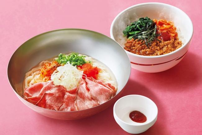 冷麺&ミニビビンバご飯セット