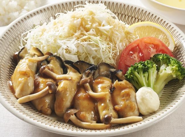 広島産ぷりぷり牡蠣のバター醤油ソテー