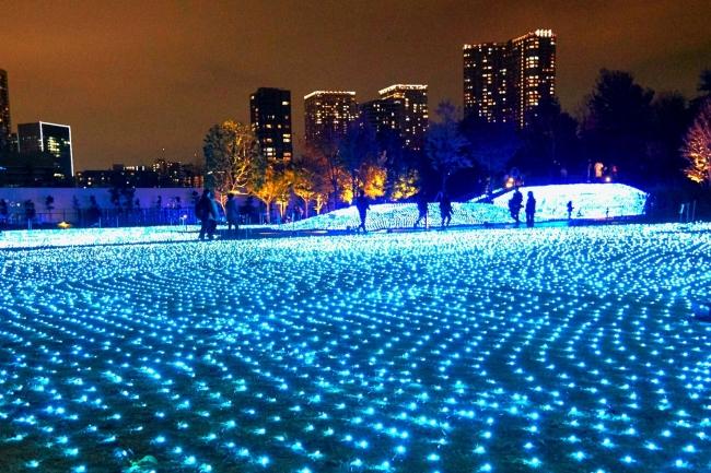 昨年約17,000人が来場した都心に煌めく青のイルミネーション。12月1日(日)~25日(水)「品川シーズンテラス イルミネーション 2019」開催