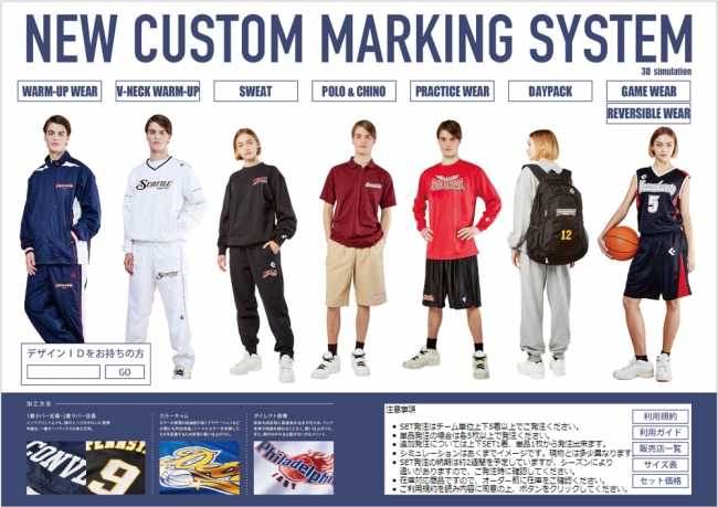 NEW CUSTOM MARKING SYSTEM WEB SITE