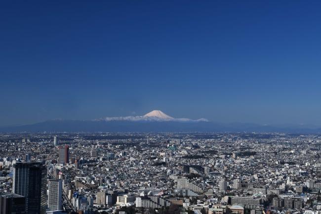 ▲屋上からの眺望(富士山方面・昼)