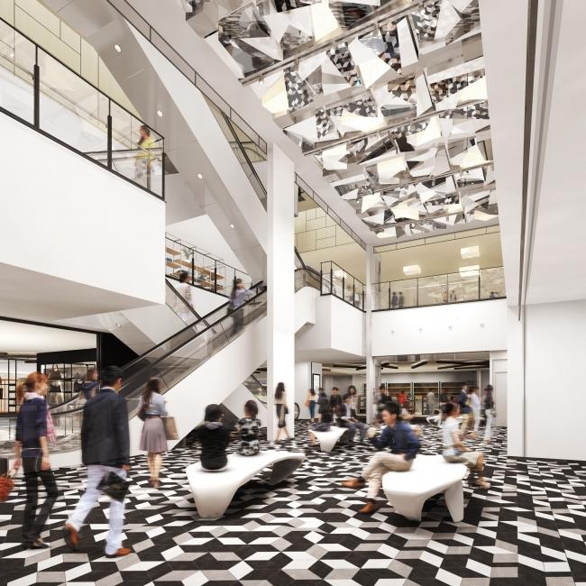 ▲商業施設7階イベントスペースイメージ(近景)