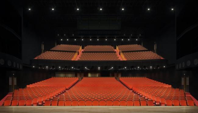 (イメージパース)JR東日本四季劇場[春] 客席