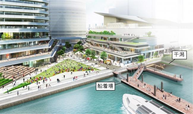 広場・テラス・水辺のイメージ