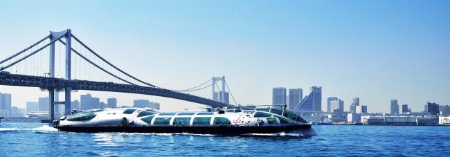東京都観光汽船「TOKYO CRUISE(ヒミコ)」 【定員160人】