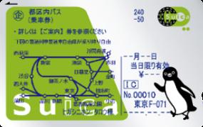 お手持ちのSuica に「都区内パス」を 搭載することも可能です。
