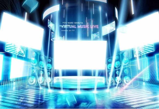 「SHIBUYA UNDER SCRAMBLE powered by au 5G」のイメージ
