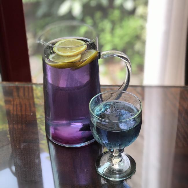 ◆5種類の自然の恵み ビルベリー、アイブライト、バタフライピー、エキナセア、アップルピース に ビルベリー&ブルーベリーの香り