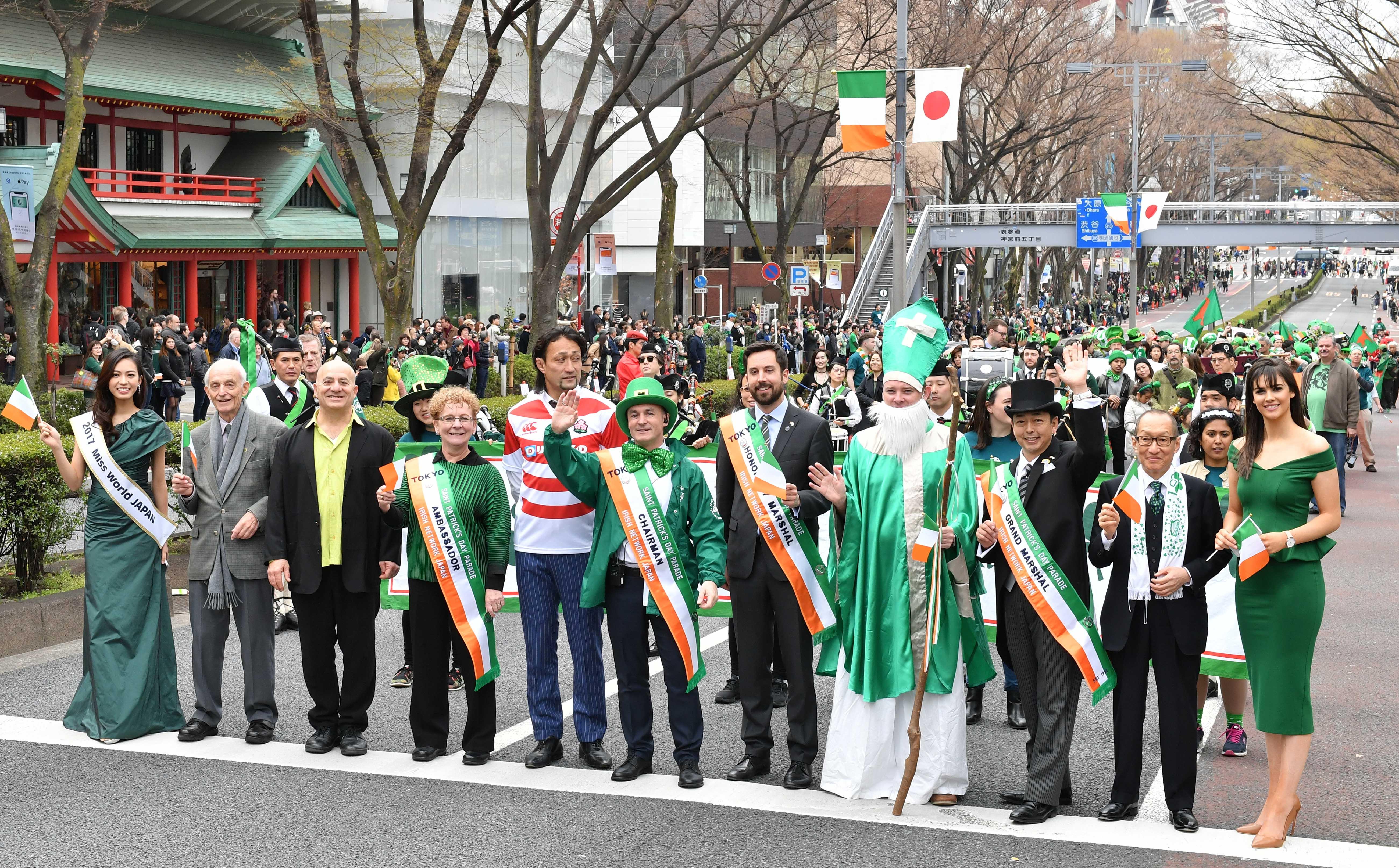 2019年、日本で行われるセント・パトリックス・デー関連イベント|アイルランド大使館のプレスリリース