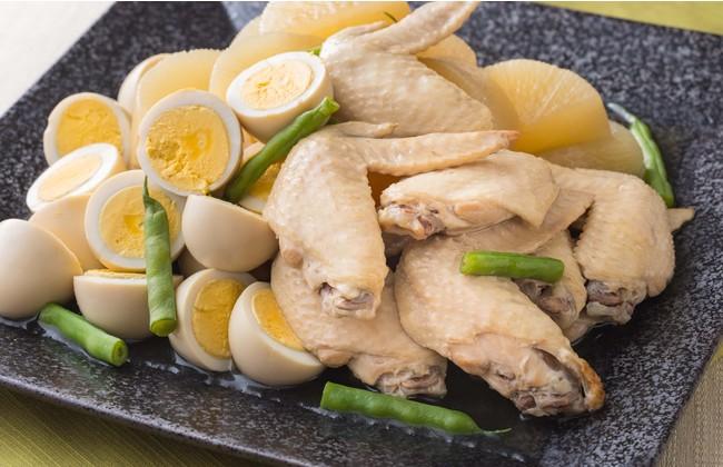 国産鶏手羽先と大根の煮物(1パック約130g 税込600円)
