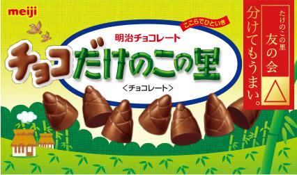 きのこの山 たけのこ の 里 チョコの量