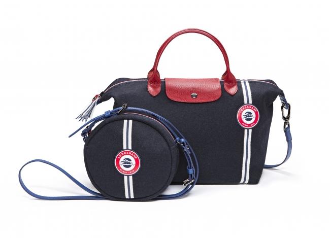 3c0b7b53c6cf フランス国旗をイメージした、ロンシャンの新作バッグ、ル プリアージュ ...