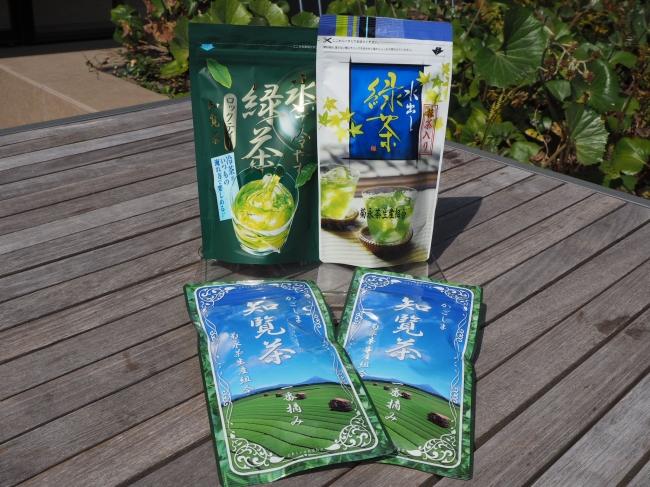 知覧茶各種 (季節によって入れ替え予定)
