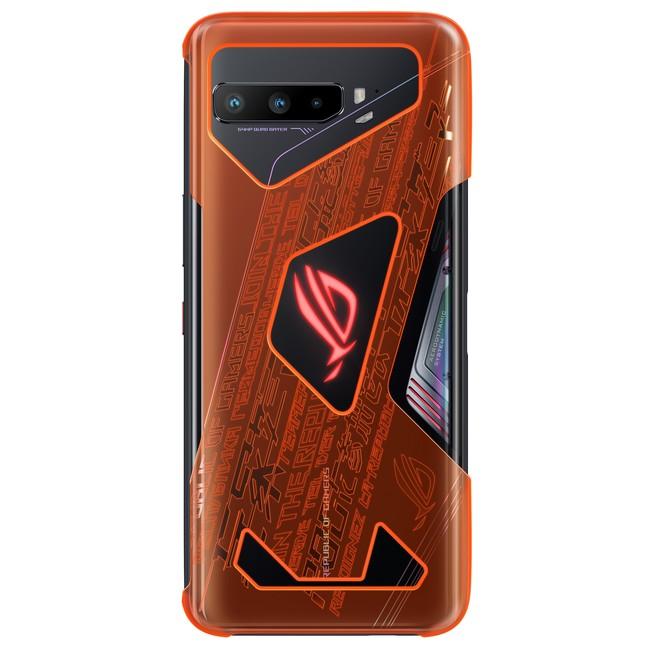 ROG Phone 3 Neon Aero Case装着イメージ
