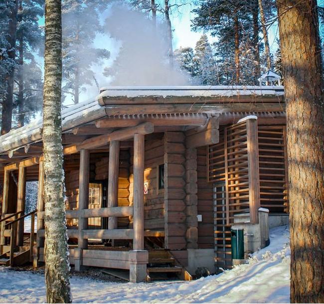 (c) Kuusijarvi Sauna