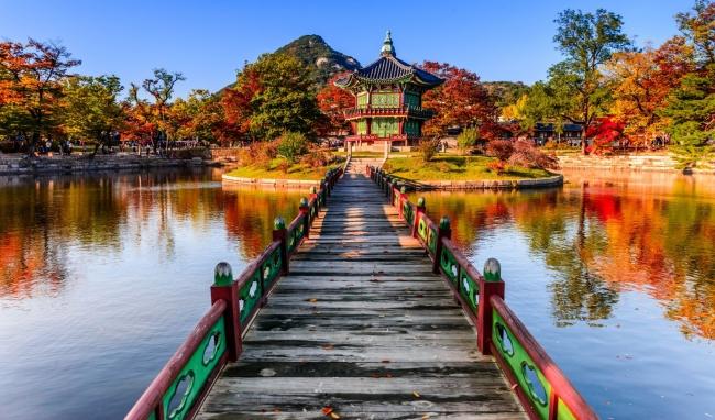 景福宮の紅葉, ソウル