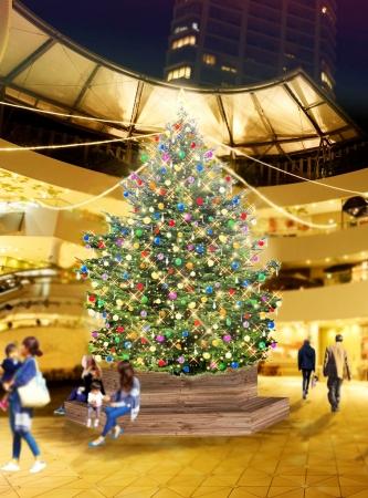 2016年クリスマスツリーイメージ