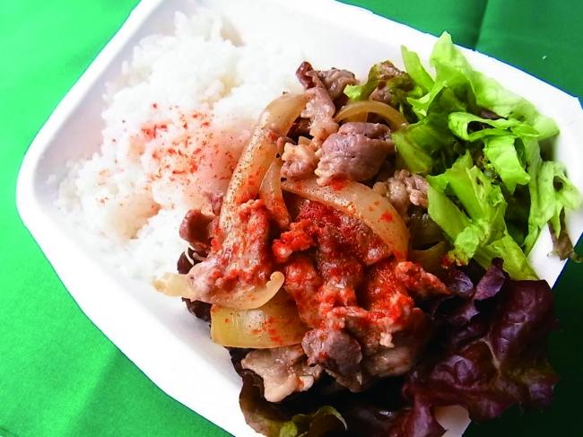 横浜地場野菜を使ったお弁当が人気の「コマデリ」も出店