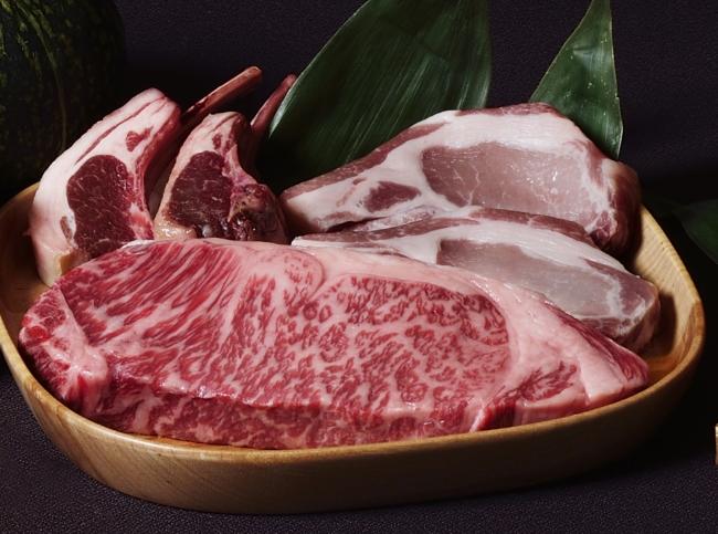 北海道産・北海道直送の素材にこだわったビアガーデン(肉イメージ)