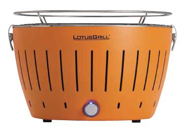 無煙炭火BBQグリル「LOTUS GRILL」を使用しています