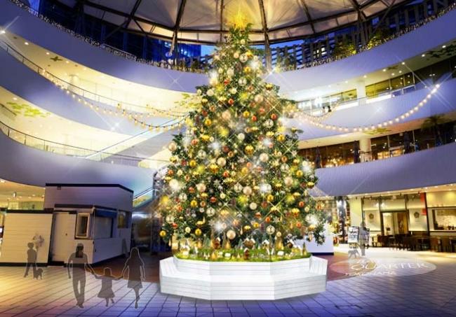 2019年クリスマスツリーイメージ