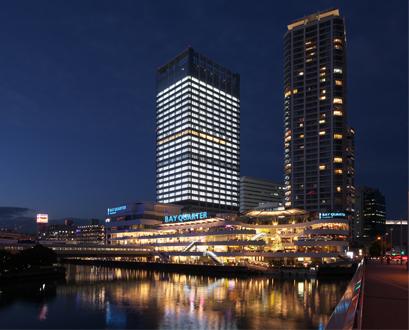 横浜ベイクォーター夜景
