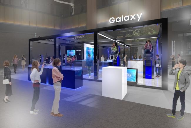 「Galaxy Studio 東京ミッドタウン」イメージ