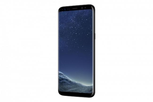 Galaxy S8ブラック