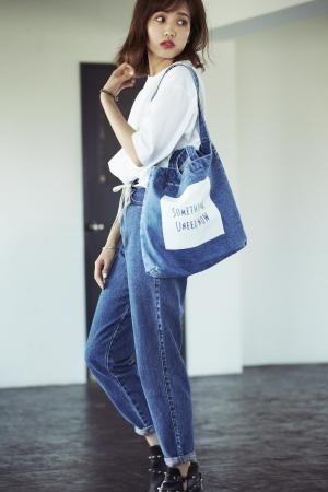 RENA KATO:TOTE BAG[ライトブルー]¥4,104