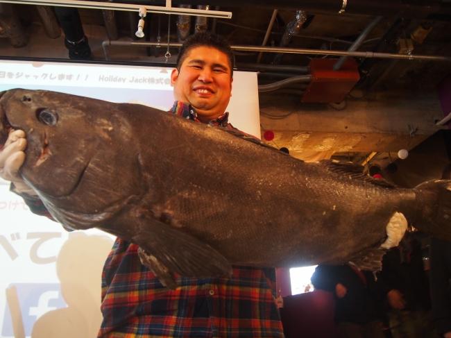 巨大深海魚アブラボウズ