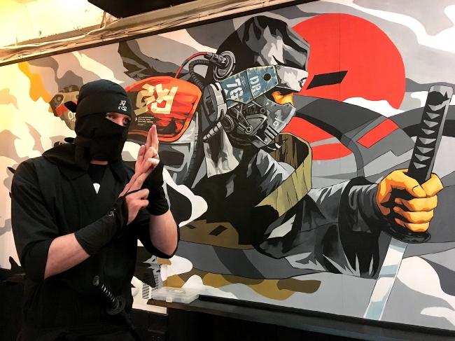 日本一映える忍者フォト