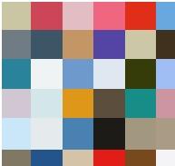 フォトジェニックな写真の色要素
