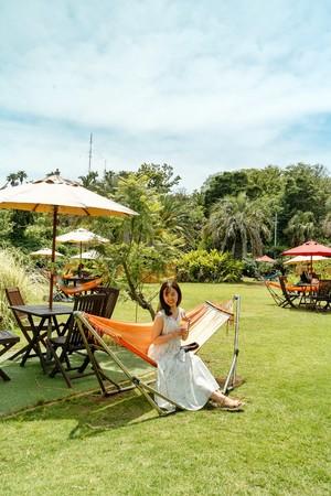 まるで南国リゾートなPICA初島「アジアンガーデンR-Asia」