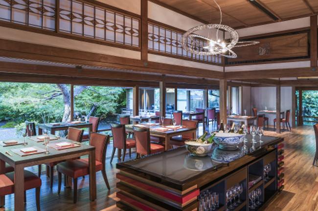 レストラン「京 翠嵐」