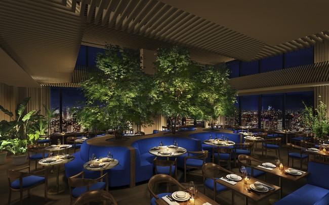 レストラン「The Blue Room」
