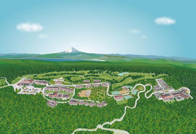 ラフォーレリゾート修善寺 俯瞰図