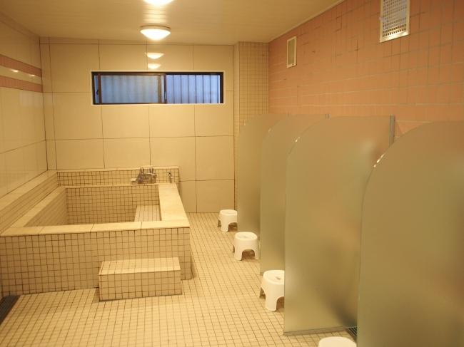 ↑ 新しくなったお風呂場