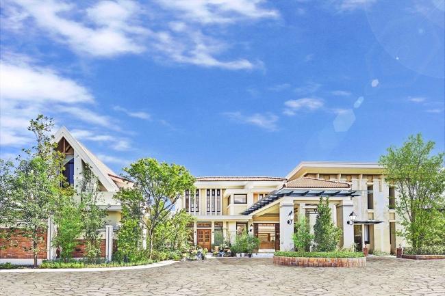 森の邸宅を思わせる一軒家貸切型のゲストハウス(完成予想図)