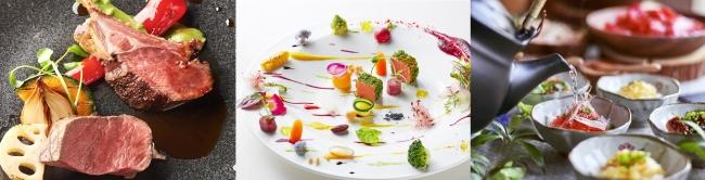 地元の厳選食材を中心にした、京フレンチ。料理長と直接、料理の打ち合わせができるのも魅力(料理イメージ)