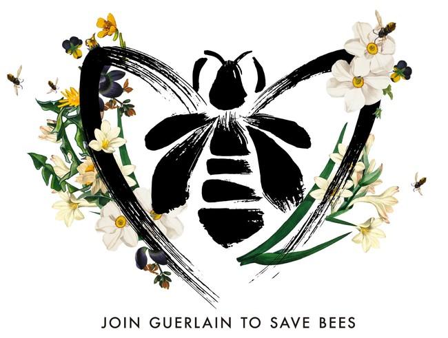 「世界ミツバチの日」ゲラン公式ビジュアル
