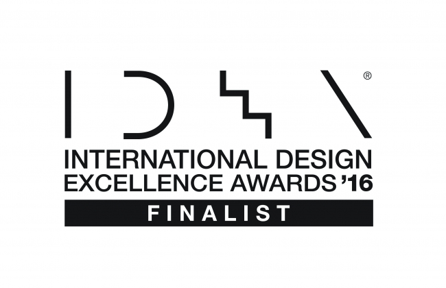 International Design Excellence Awards (IDEA) 2016 ファイナリスト受賞