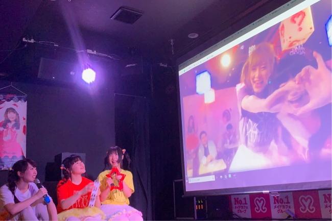 大阪会場と生中継でダンスバトル
