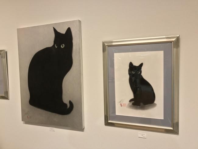 ギャラリーコーナーではサイズの大きな作品を展示