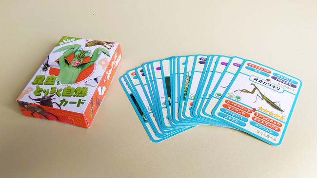 昆虫をとりまく自然カード