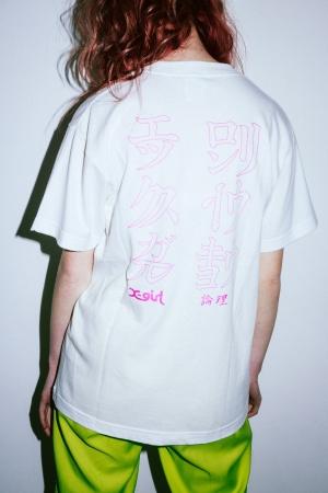 X-girl × 論理03
